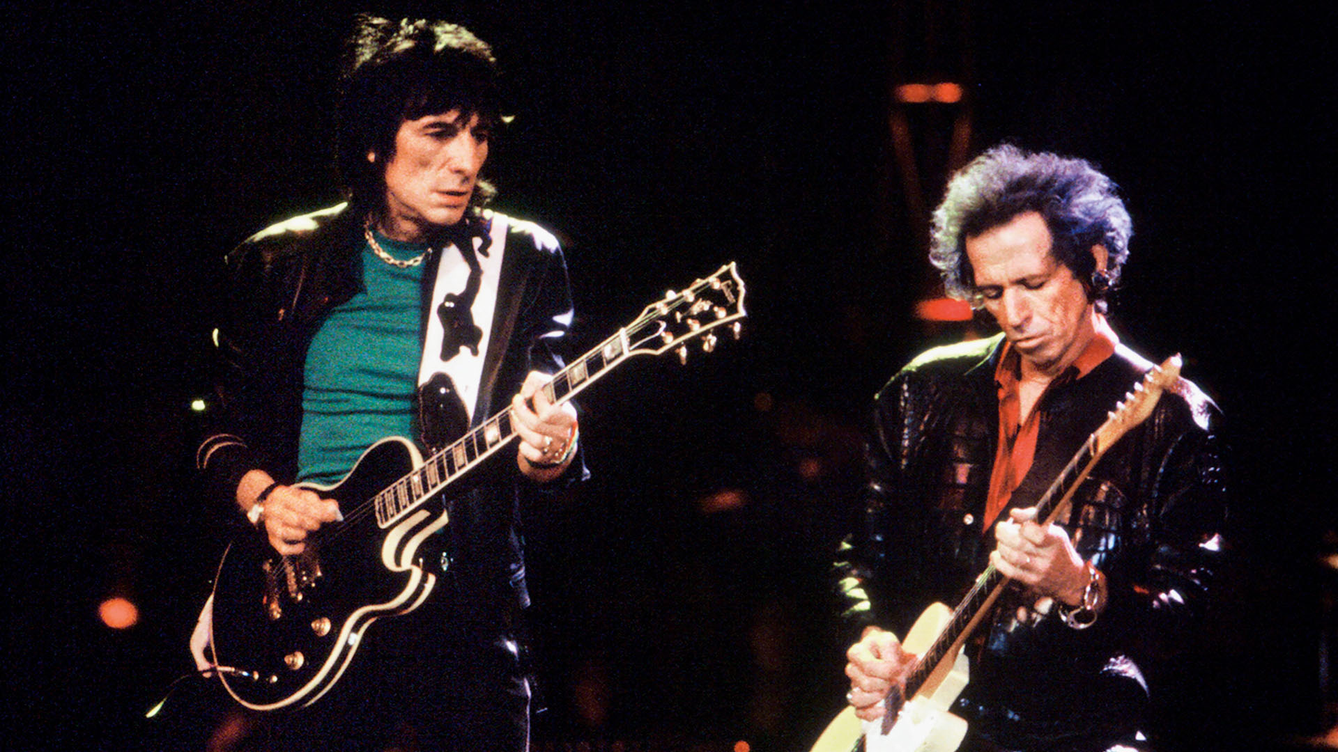 The Rolling Stones - Keith & Ronnie