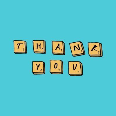 Thank You by Josie Proto