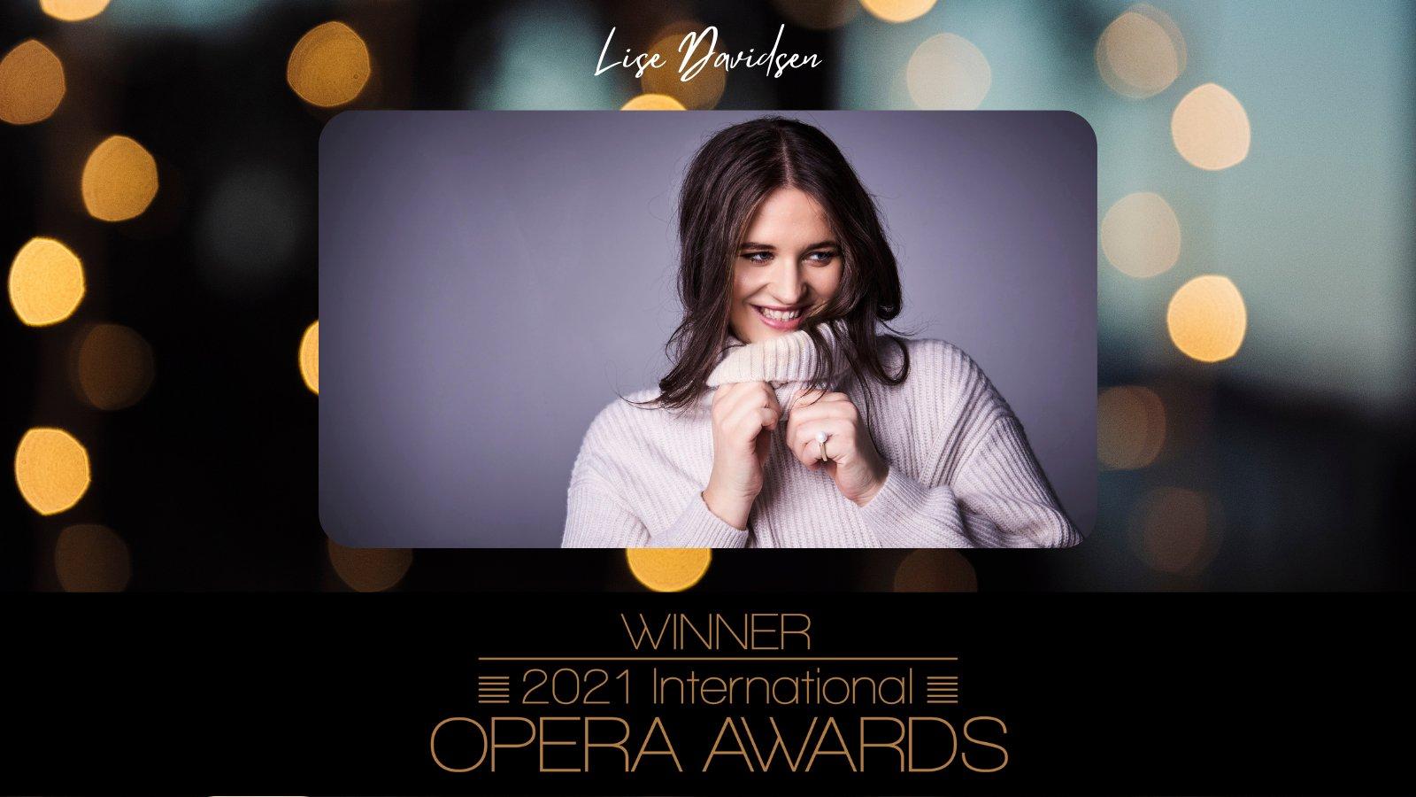 2021 International Opera Awards Female Singer of the Year!