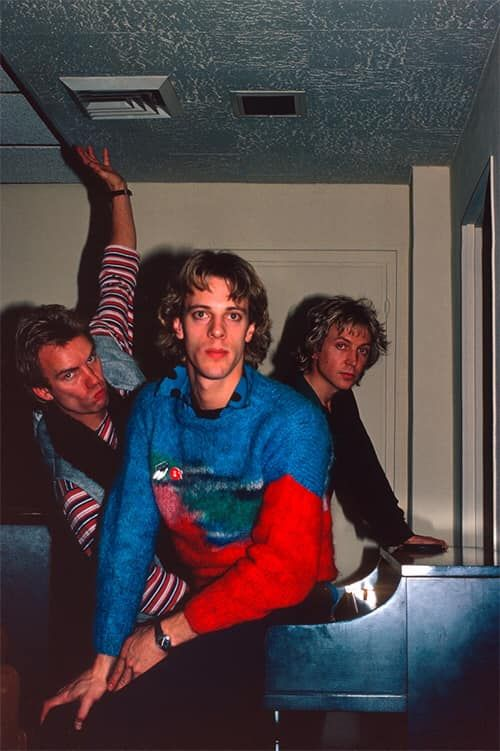 The Police – A&M Records, New York, 27 Nov 1979 © Craig Betts