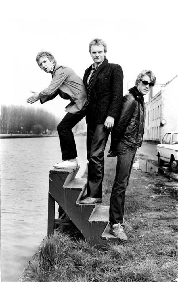 The Police – Amsterdam, 1979 © Barry Schultz