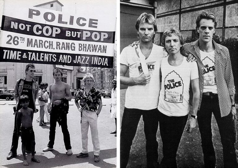 The Police – Bombay, 1980
