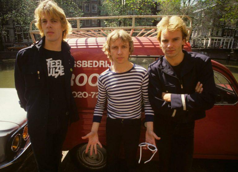 The Police – Amsterdam, 22nd June 1979 © Gijsbert Hanekroot