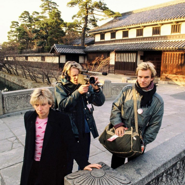The Police – Japan's Kurashiki Bikan historical quarter, 30th January 1981