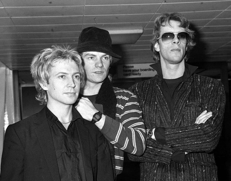 The Police – London Heathrow Airport to America, The Police Around The World Tour, January 1980