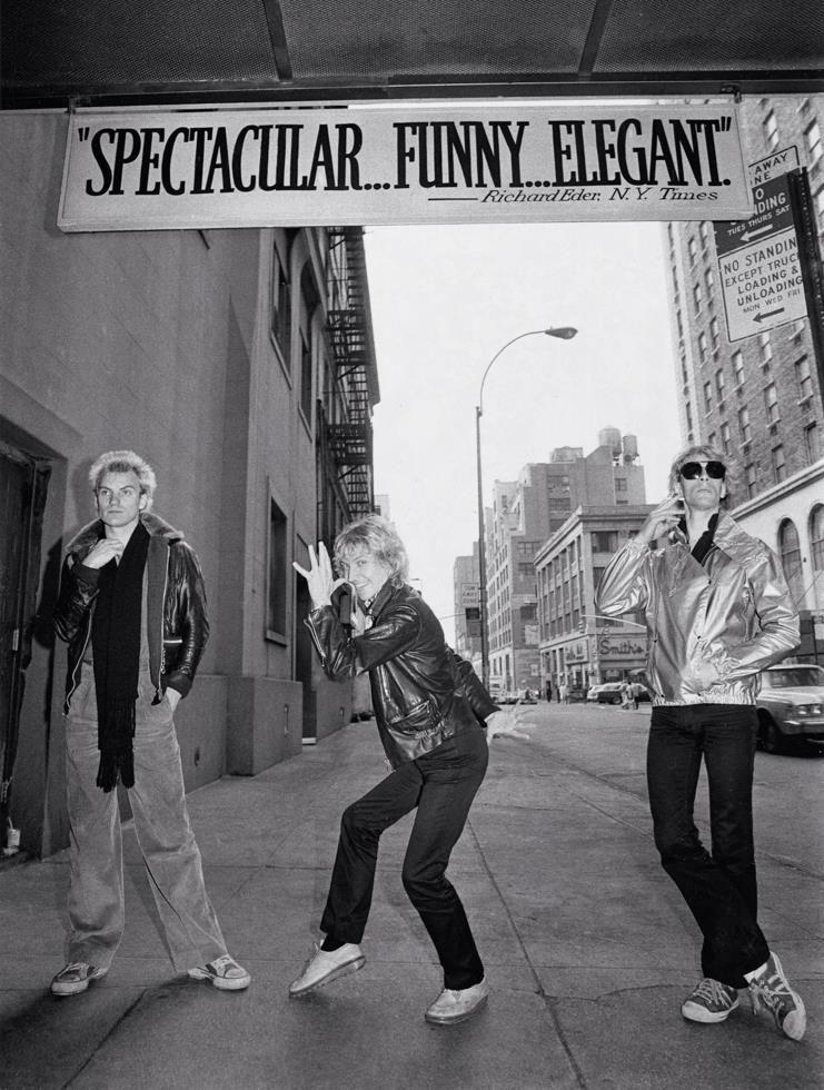The Police 1978 © Lynn Goldsmith