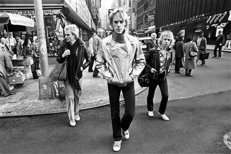 The Police -New York 1978 © Lynn Goldsmith
