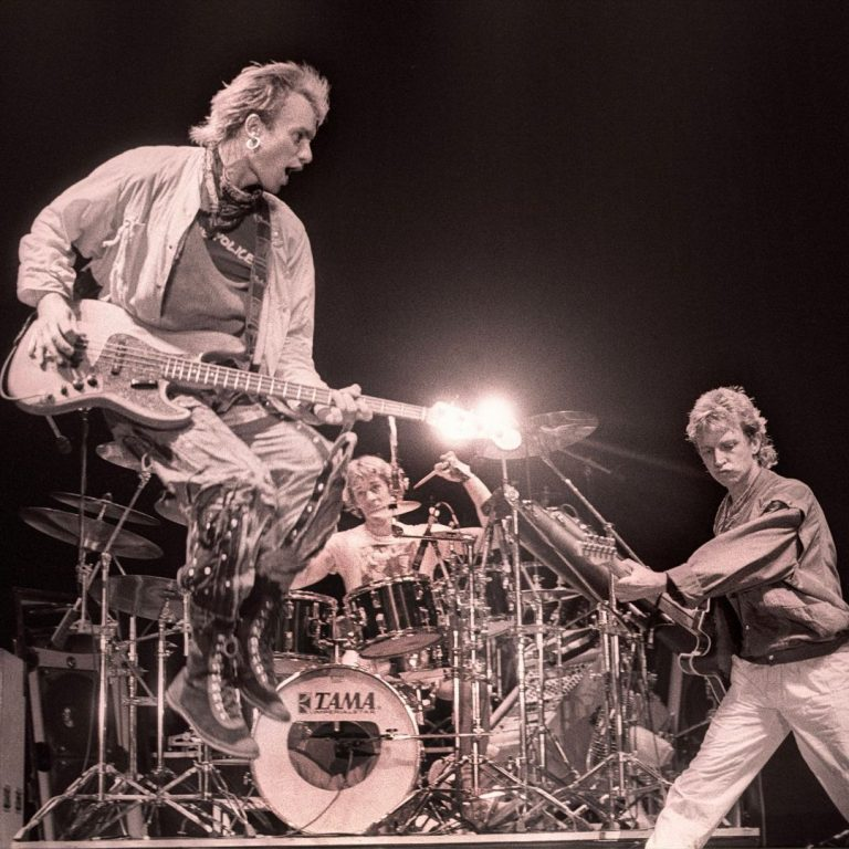 The Police – Ahoy In Rotterdam, Netherlands – Oct 4, 1983
