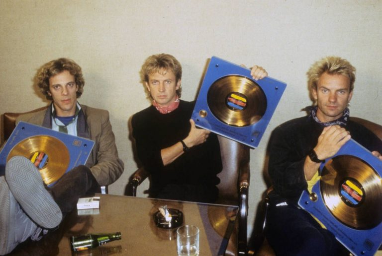 The Police – Collecting Synchronicity Gold Albums 1983