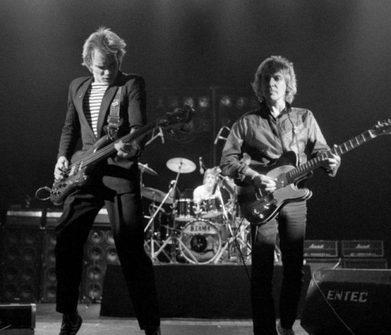The Police – Hammersmith Odeon, London 18/12/79 © Craig Betts
