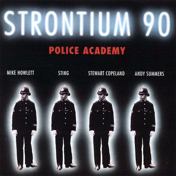 Strontium 90 Police Academy Album Artwork