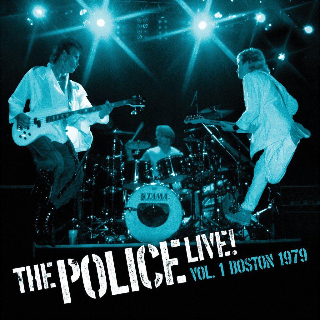 The Police - Live Vol.1 RSD Artwork